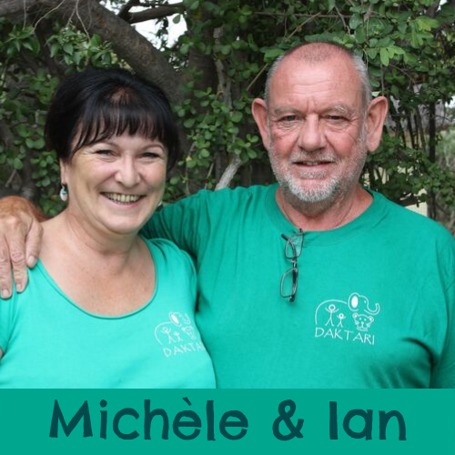 Meet the team Ian & Michèle Merrifield