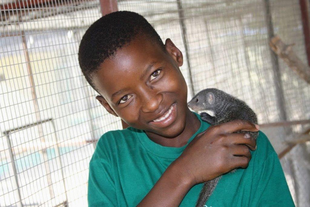 Kid & mongoose