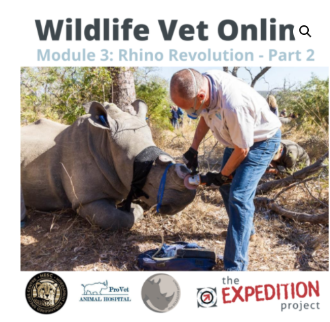 Wildlife Vet Online Dr Peter Rogers